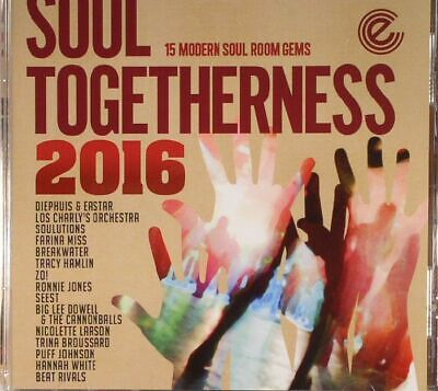 VARIOUS - Soul Togetherness 2016 - CD (unmixed CD) • 13£
