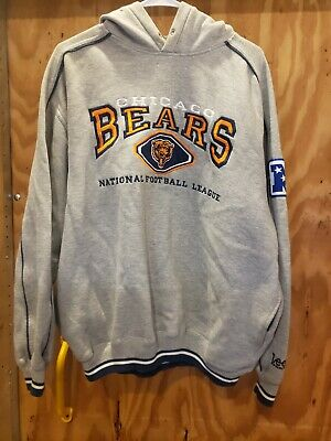 $24.99 • Buy Vintage Lee Sports CHICAGO BEARS NFL Football Pullover Hoodie Size Large