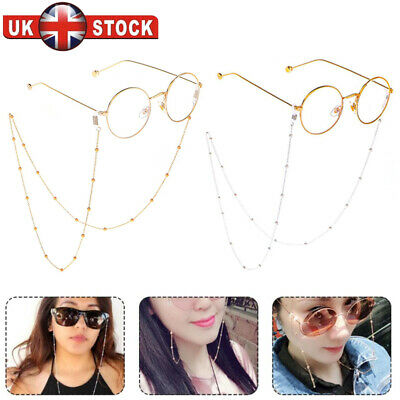 Eye Glasses Sunglasses Spectacles Eyewear Chain Holder Cord Lanyard Necklace A • 3.97£