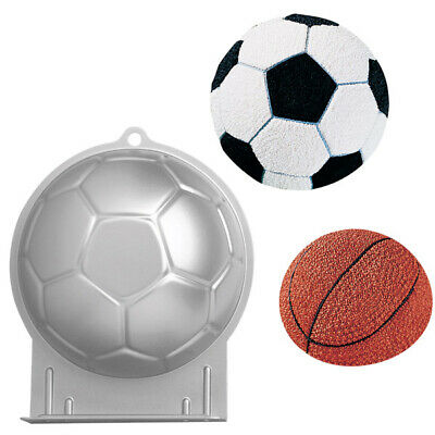Wilton Soccer Ball 3D Sports Football Birthday Cake Pan Tin Mold Mould Aluminium • 15.05£