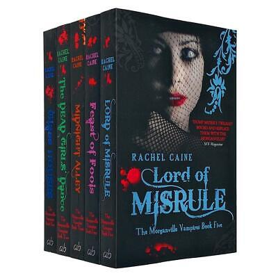 £15.99 • Buy Morganville Vampires Series 1 (1-5) Collection 5 Books Set By Rachel Caine NEW