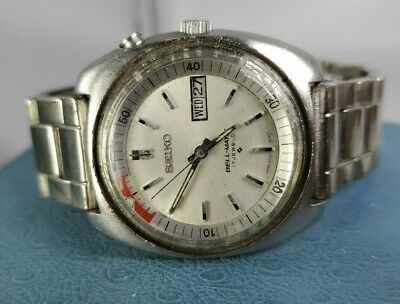 $ CDN181.43 • Buy Vintage SEIKO BELL-MATIC Auto Alarm 17 Jewels Stainless Steel Watch. For Parts
