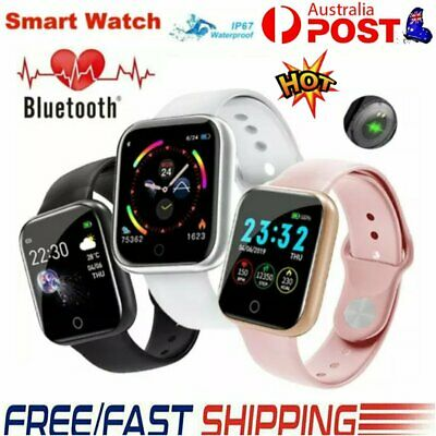 AU19.76 • Buy 2020 Smart Watch Bluetooth Heart Rate Blood Pressure Fitness Tracker IP67 HOT GD