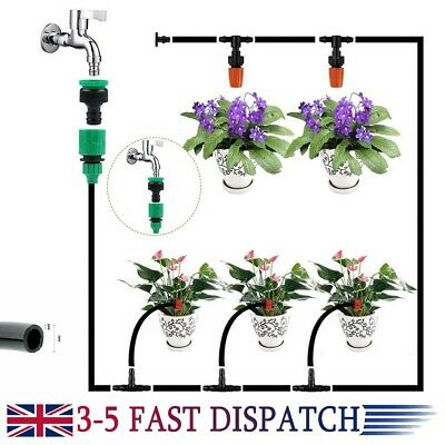 Drip Irrigation Watering Timer Automatic Pump System Micro Garden Plant Auto • 10.29£