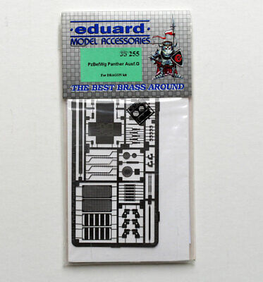 EDUARD 35255 1/35 Photo-Etched DETAIL SET For DRAGON Pz.Bef.Wg.V PANTHER Ausf.G • 14.99£