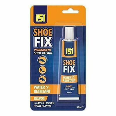 SHOE GLUE CLEAR 30ML GLUE -TRAINERS And ALL SHOE FIX WATER PROOF • 2.25£