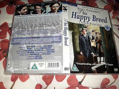 This Happy Breed [1944] [DVD]  Robert Newton 2 Disc Free Uk Delivery  • 7.74£