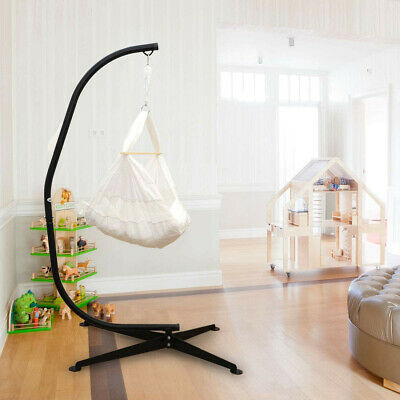 2.15M High Hanging Hammock Chair Stand Suspended Rocking Chair Stand Support Fun • 99.96£