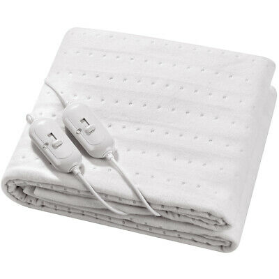 Super Comfy Luxury Electric Blanket Under Heated Washable Single Double King Bed • 16.90£