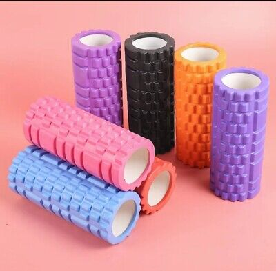 AU16.90 • Buy Foam Roller-Medium-Physio-Plates-Yoga Fitness GYM Exercise Training 3DPoint 33CM