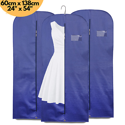 £5.99 • Buy Clothes Cover 54  Suit Breathable Travel Zipped Long Dress Garment Storage Bags