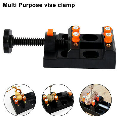 Mini Jaw Bench Clamp Drill Press Vice Opening Parallel Table Vise Craft Tools UK • 5.99£