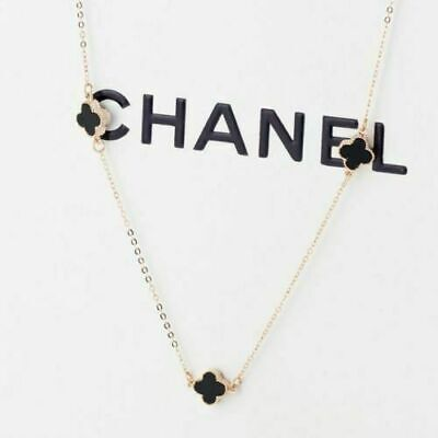 🇬🇧Brand New 4 Clover Gold Chain Necklace Womens Ladies Jewellery+FREE DELIVERY • 6.99£