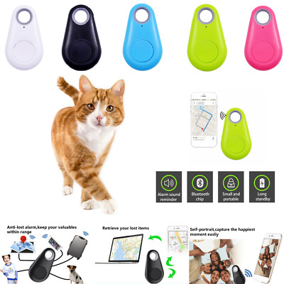 Mini GPS Tracking Finder Device Key Tag Child Finder Pet Tracker Vehicle Locator • 4.99£