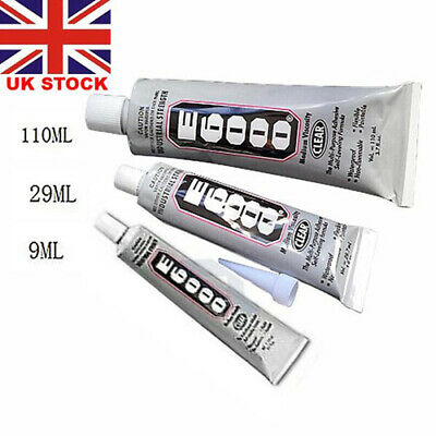 Original E6000 110ml 29ml 9ml Glue Multi-Purpose Industrial Strength FREE UK • 4.99£