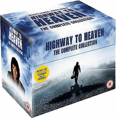 Highway To Heaven - Seasons 1-5 -The Complete Collection DVD 201330 Disc Set • 54.99£