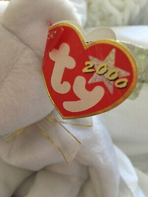 £70 • Buy Ty Beanie Baby Babies - Halo II Bear - Retired - Rare Halo 2 Brown Nose Variant