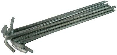 £20.59 • Buy Tent Pegs Heavy Duty Steel 400mm X 10mm Marquee Tarpaulin Awning Ground Stakes
