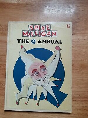 Spike Milligan The Q Annual 128 Page Book Comedy Sketches & Photographs  • 6.99£