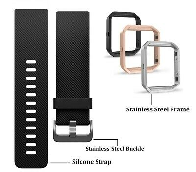 $ CDN17.93 • Buy Fitbit BLAZE Black Classic Accessory Replacement Band + Frame