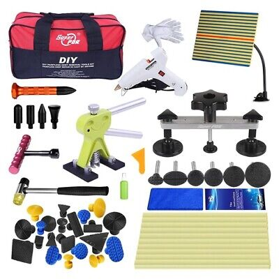 PDR Tools Paintless Hail Removal Kit Dent Repair Puller Lifter&Line Board Set UK • 30.66£