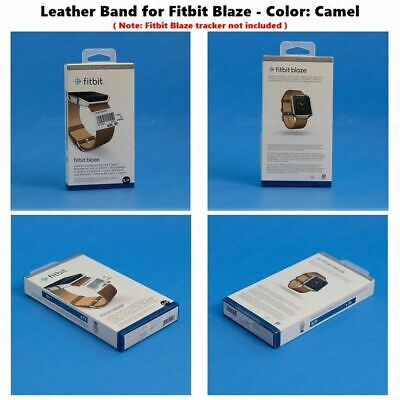 $ CDN31.28 • Buy NEW Fitbit Blaze Accessory Replacement Brown Leather Wrist Band & Frame S/L