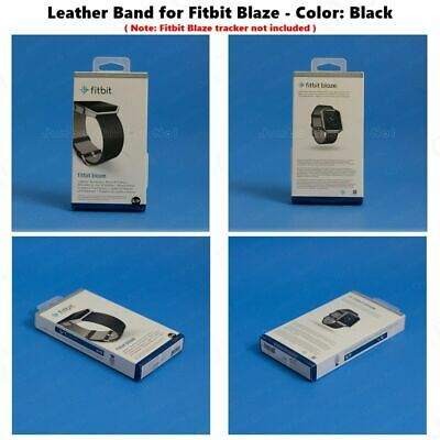 $ CDN31.28 • Buy NEW Fitbit Blaze Accessory Replacement Black Leather Wrist Band & Frame S/L
