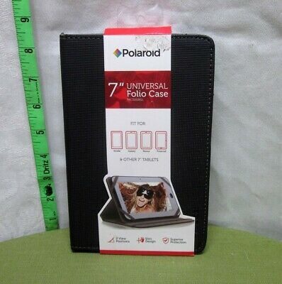 """£7.20 • Buy 7"""" TABLET CASE Universal Polaroid Slim Design 2013 Two Positions NWT Padded"""