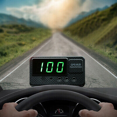 $23.20 • Buy Universal Digital Car Auto GPS MPH/KM/h HUD Display Speedometer For Motorcycle