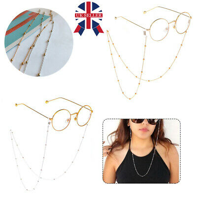 Eye Glasses Sunglasses Spectacles Eyewear Chain Holder Cord Lanyard Necklace N • 2.68£