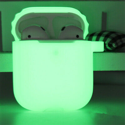 $ CDN2.59 • Buy 2020 Luminous Glitter Silicone Earphone Case For Apple AirPods1/2 Charging Cover