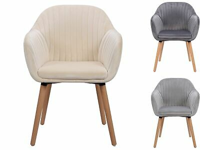 £86.39 • Buy 1x Kitchen Dining Chair Living Room Corner Chair With Velvet Solid Wood