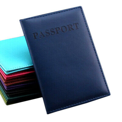 AU5.89 • Buy Men Wallet PU Leather Passport Credit Card Business ID Holder Travel Accessories