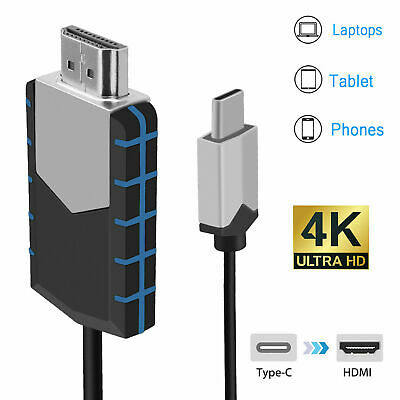 $ CDN14.91 • Buy USB Type-C To HDMI 4K HDTV TV Cable Adapter High Speed For Mobile Phone Computer