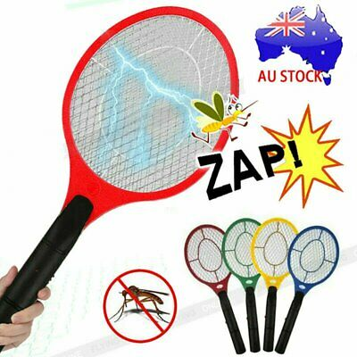 AU11.90 • Buy Electric Bug Zapper Racket Fly Swatter Mosquito Killer Insects Bat Handheld AU N