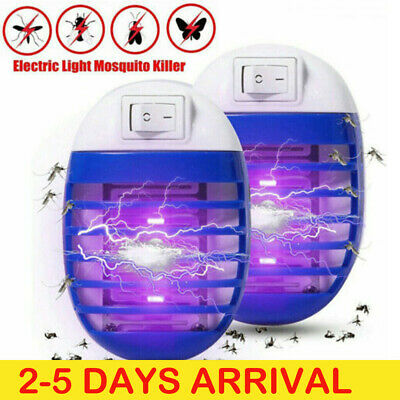 Electric Mosquito Killer Lamp Fly Bug Indoor Insect Zapper Pest Catcher Trap • 5.99£