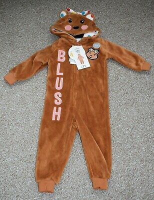 CHILDREN IN NEED PUDSEY BEAR ONE PIECE 12-18 MONTHS 80-86 Cm BNWT • 5£