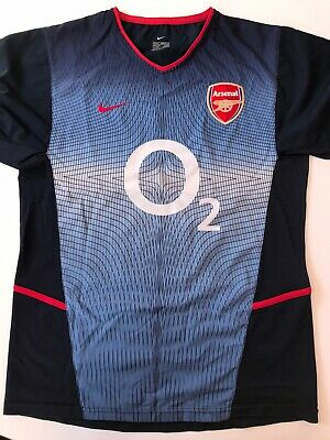 Arsenal Authentic Nike Premier League Football Away Shirt Adult Small 2002-2003 • 99.99£
