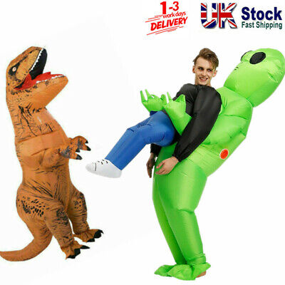 Adult Kids Halloween Costume Inflatable Suit Cosplay Jumpsuits Party Fancy Dress • 31.99£