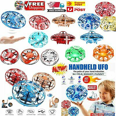 AU20.99 • Buy 360° Mini Drone Smart UFO Aircraft For Kids Flying Toy RC Hand Control Xmas Gift