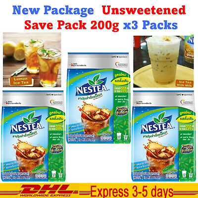 $46 • Buy 3 X Nestea Nestle Unsweetened Instant Iced Tea Mix Beverages Brew Drink 90g DHL