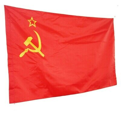 USSR Soviet Union Communist Russian Russia-Socialists-Red National-Beauty-Flags • 4.99£