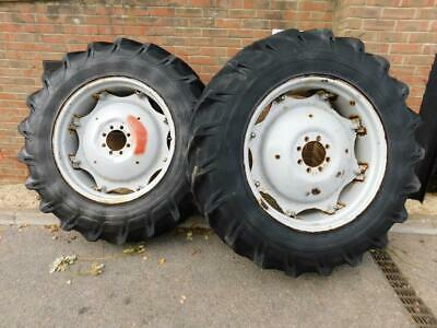 16.9/34 Tractor Wheels & Tyres From Mf Massey Ferguson 290 590 690 • 400£
