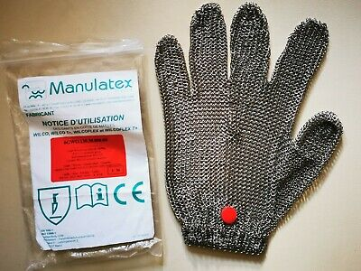 Stainless Steel Chainmail Safety Glove Butcher Chef Ambidextrous Medium  • 9.70£