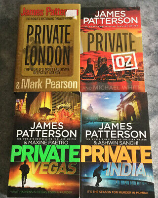 AU29.95 • Buy James Patterson  - Lot Of 4 Books - Private India Vegas London Oz