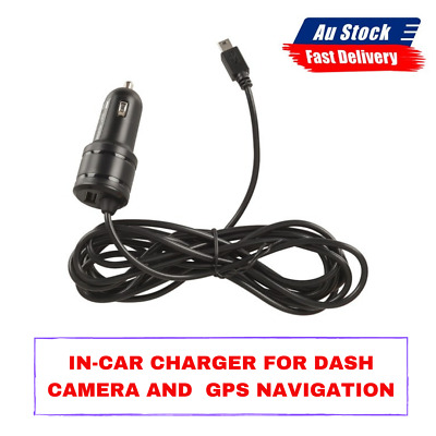 AU26.89 • Buy In-Car Charger For Dash Camera And GPS Navigation Lightweight Powerful Truck Car