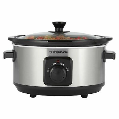 Morphy Richards 460017 3.5L Ceramic Slow Cooker • 21.99£