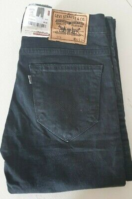 Men's Levi's 519 Jeans - W32, L34 - Dark Blue - NWT (Irregular) - Read Desc • 25£