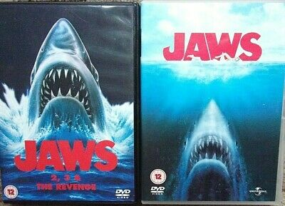 Jaws/Jaws 2/Jaws 3/Jaws - The Revenge (DVD 2009) • 5.50£