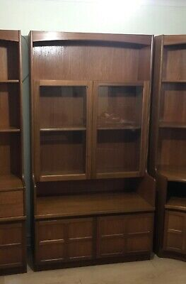 Nathan Teak Display Cabinet  - Beautiful • 20£